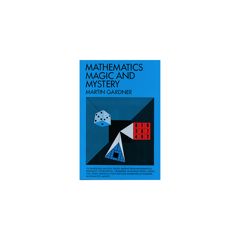 Mathematics, Magic & Mystery by Martin Gardner - Book wwww.magiedirecte.com