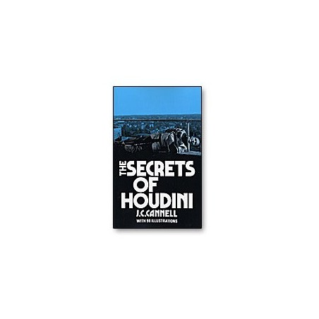 The Secrets of Houdini by J.C. Connell - Book wwww.magiedirecte.com