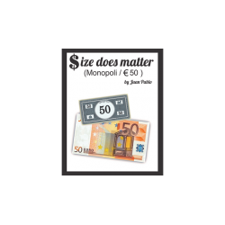 Size Does Matter MONOPOLY EURO (Gimmicks and Online Instructions) by Juan Pablo Magic wwww.magiedirecte.com