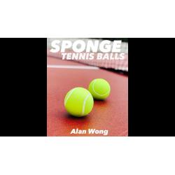 Sponge Tennis Balls (3 pk.) by Alan Wong - Trick wwww.magiedirecte.com