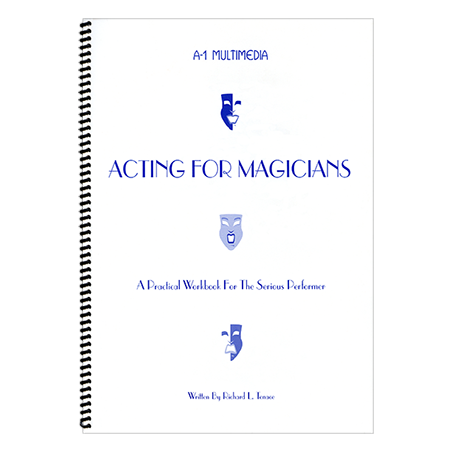 Acting for Magicians by Murphy's Manufacturing - Book wwww.magiedirecte.com