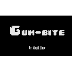 GUMBITE (Gimmick and Online Instructions) by Magik Time and Alex Aparicio - Trick wwww.magiedirecte.com