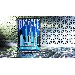 Limited Edition Bicycle City Skylines Jeu de Cartes (Chicago) wwww.magiedirecte.com