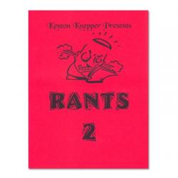 Rants 2 by Kenton Knepper - Book wwww.magiedirecte.com