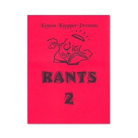 Rants 2 by Kenton Knepper - Book wwww.magiedirecte.com