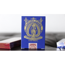 Limited Late 19th Century Square Faro (Blue) Playing Cards wwww.magiedirecte.com