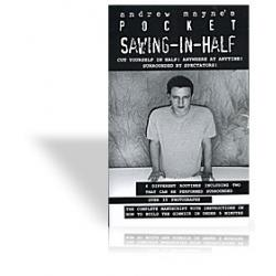 Pocket Sawing-In-Half by Andrew Mayne - Book wwww.magiedirecte.com
