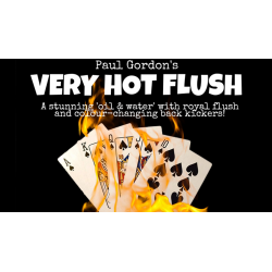 Very Hot Flush by Paul Gordon (Gimmick and Online Instructions) - Trick wwww.magiedirecte.com