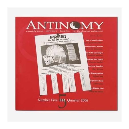 Antinomy Magazine 5 - Book wwww.magiedirecte.com