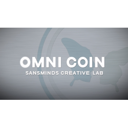 Limited Edition Omni Coin UK version (DVD and Gimmicks) by SansMinds Creative Lab - Trick wwww.magiedirecte.com