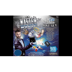 MASTER MAGIC 150 MAGIC HAT SET by Eddy's Magic - Boite de Tours de Magie wwww.magiedirecte.com