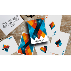 Diamon Playing Cards N° 12 Summer 2019 de Dutch Card House Company wwww.magiedirecte.com
