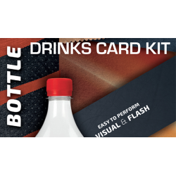 Drink Card KIT for Astonishing Bottle (Gimmick and Online Instructions) by João Miranda and Ramon Amaral  - Trick wwww.magiedire