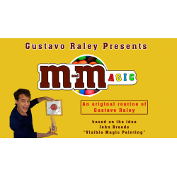 M and Magic (Gimmicks and Online Instructions) by Gustavo Raley - Tour de Magie wwww.magiedirecte.com