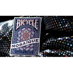 Bicycle Mosaique Playing Cards by US Playing Card wwww.magiedirecte.com