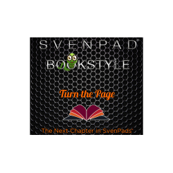 SvenPad® Bookstyle (Black and Green) wwww.magiedirecte.com