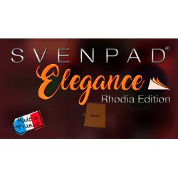 SvenPad® Elegance Rhodia® Edition (Single, Black Cover) - Trick wwww.magiedirecte.com