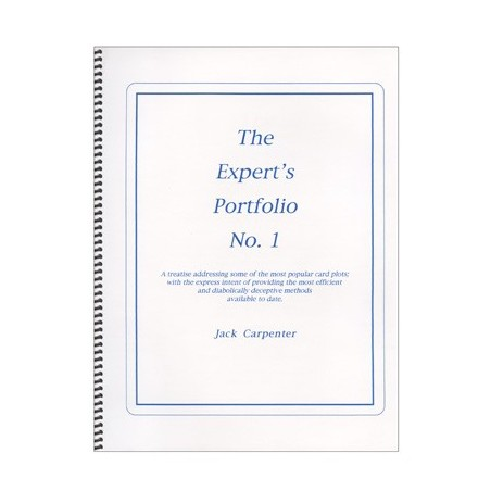 Expert's Portfolio by Jack Carpenter - Book wwww.magiedirecte.com