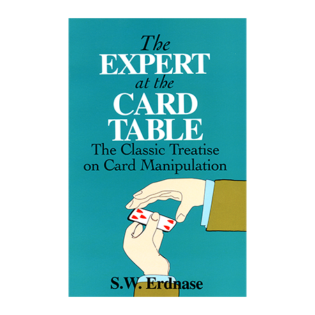 Expert At The Card Table by Dover Erdnase - Book wwww.magiedirecte.com