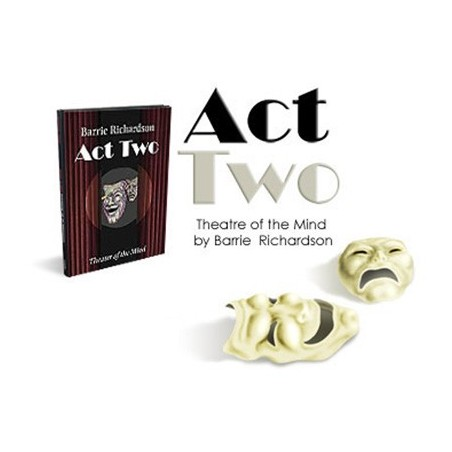 Act Two by Barrie Richardson - Book wwww.magiedirecte.com