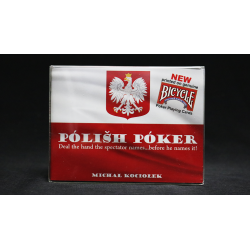 Bicycle Edition Polish Poker  (Gimmicks and Online Instructions) by Michal Kociolek - Trick wwww.magiedirecte.com
