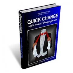 Quick Change Book (For Men) by Lex Schoppi - Book wwww.magiedirecte.com
