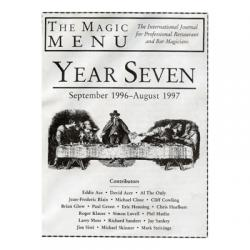 Year 7 : The Magic Menu - Book wwww.magiedirecte.com