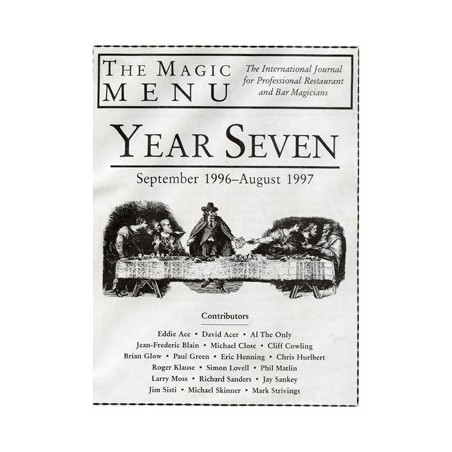 Year 7 : The Magic Menu - Book wwww.magiedirecte.com