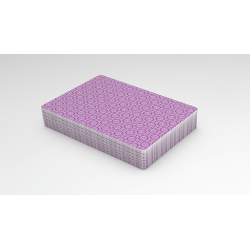 Rouge Amethyst Purple (Marking System)  Playing Cards wwww.magiedirecte.com