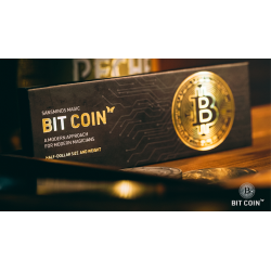 The Bit Coin Gold (3 Gimmicks and Online Instructions) by SansMinds - Trick wwww.magiedirecte.com