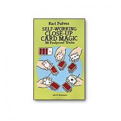 Self Working Close-Up Card Magic by Karl Fulves - Book wwww.magiedirecte.com