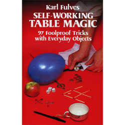 Self Working Table Magic by Karl Fulves - Book wwww.magiedirecte.com