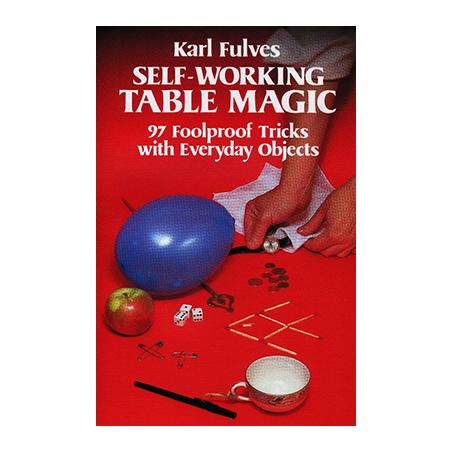 Self Working Table Magic by Karl Fulves - Book wwww.magiedirecte.com