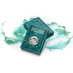 Fillide: A Sicilian Folk Tale Playing Cards (Acqua) by Jocu wwww.magiedirecte.com