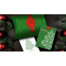 Paisley (Métallique Vert) - Dutch Card House Company wwww.magiedirecte.com