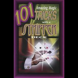 101 Amazing Magic Tricks with a Stripper Deck by Royal Magic - Book wwww.magiedirecte.com