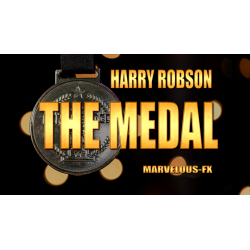 The Medal RED by Harry Robson & Matthew Wright - Trick wwww.magiedirecte.com