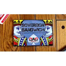 Sovereign Sandwich RED by David Jonathan wwww.magiedirecte.com