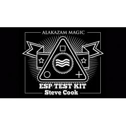 ESP Test Kit (Gimmicks and Online Instructions) by Steve Cook - Trick wwww.magiedirecte.com