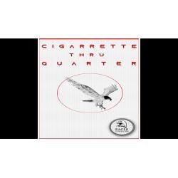 Cigarette Thru Quarter (One Sided) by Eagle Coins - Trick wwww.magiedirecte.com