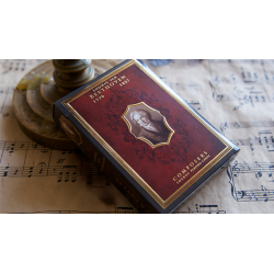 Ludwig van Beethoven (Composers) Playing Cards wwww.magiedirecte.com