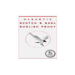 Magnetic Scotch and Soda English Penny by Eagle Coins - Trick wwww.magiedirecte.com