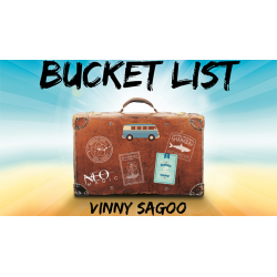 Bucket List (Gimmicks and Online Instructions) by Vinny Sagoo - Trick wwww.magiedirecte.com