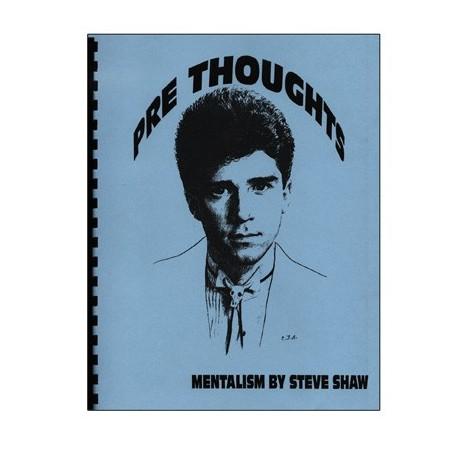 Pre Thoughts by Banachek - Book wwww.magiedirecte.com