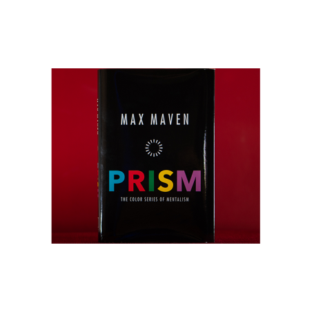 PRISM The Color Series of Mentalism by Max Maven - Book wwww.magiedirecte.com