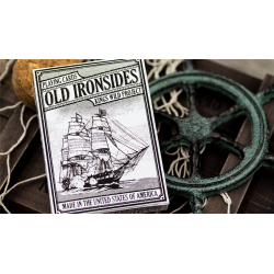 Old Ironsides Playing Cards by Kings Wild Project wwww.magiedirecte.com