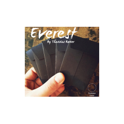 Everest (Gimmicks and Online Instructions) by Thaddius Barker Produced by Mentalism Center wwww.magiedirecte.com