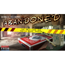 Abandoned RED (Gimmicks and Online Instructions) by Dennis Reinsma & Peter Eggink - Trick wwww.magiedirecte.com