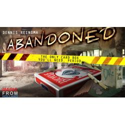 Abandoned BLUE (Gimmicks and Online Instructions) by Dennis Reinsma & Peter Eggink - Trick wwww.magiedirecte.com
