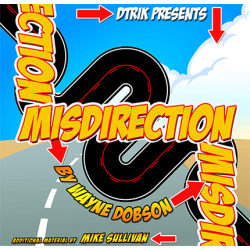 Misdirection (Book and Online Instructions)  by Wayne Dobson - Book wwww.magiedirecte.com